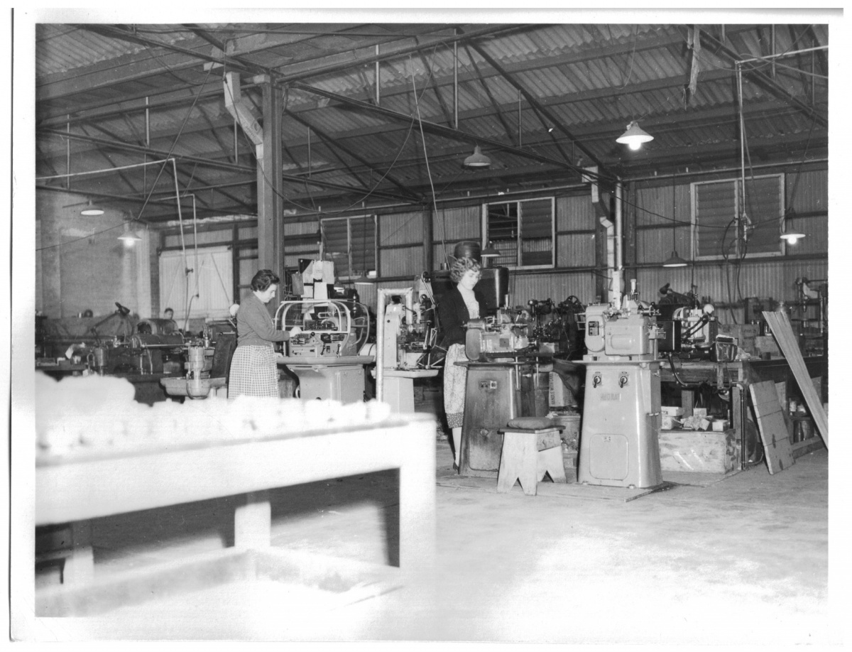 Dobbie Ladies Working in Factory